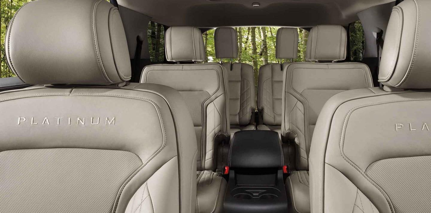 2019 Ford Explorer Seating