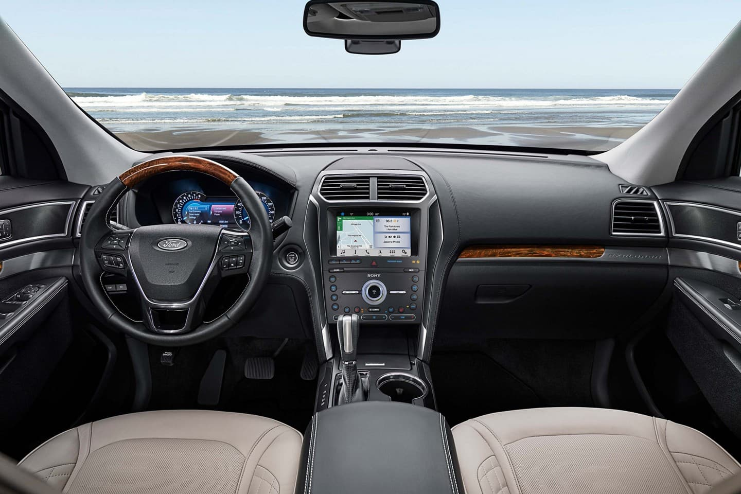 2019 Ford Explorer Cockpit