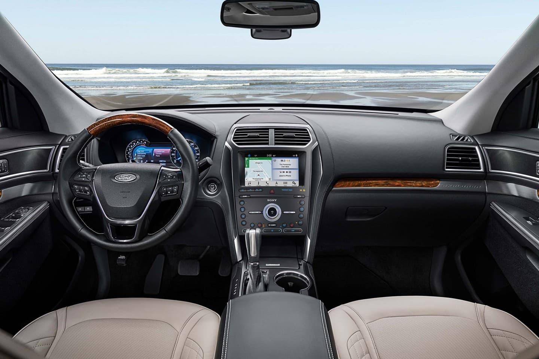 2019 Ford Explorer Cockpit