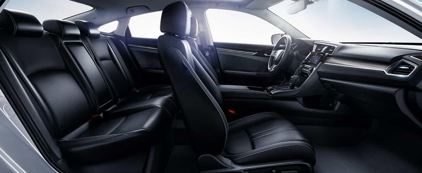 2019 Honda Civic Seating