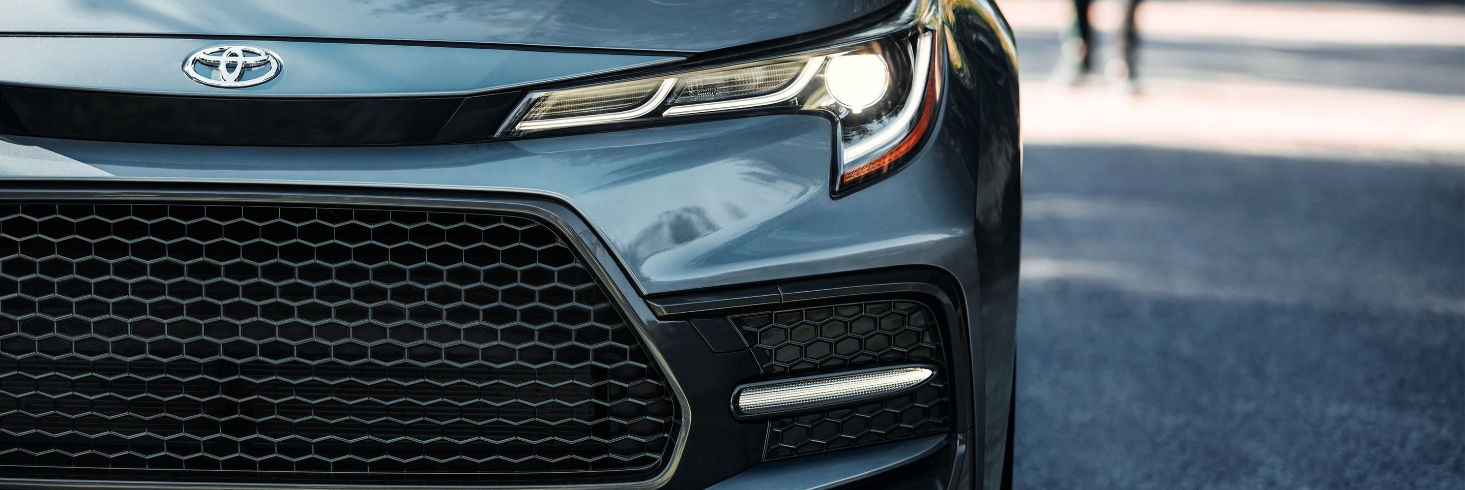 Standard LED Headlights of the 2020 Corolla