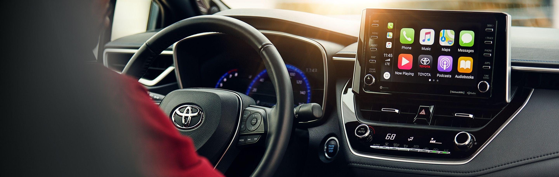 Standard Apple CarPlay™ in the 2020 Corolla