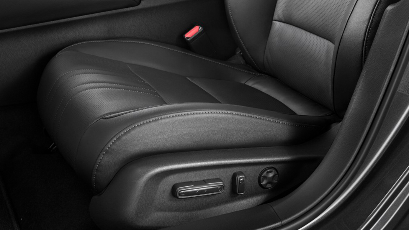 Power Adjustable Driver's Seat in the 2019 Accord Hybrid