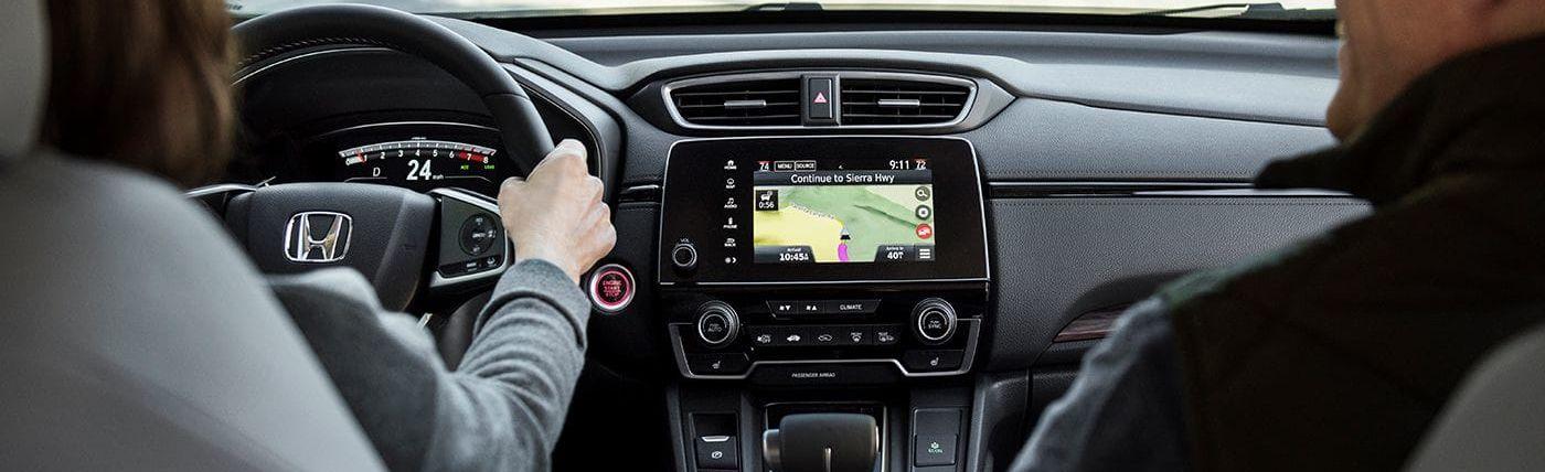 Dashboard of the 2019 Honda CR-V