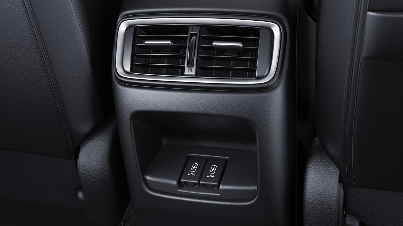 Power Options in the Second Row of the 2019 CR-V