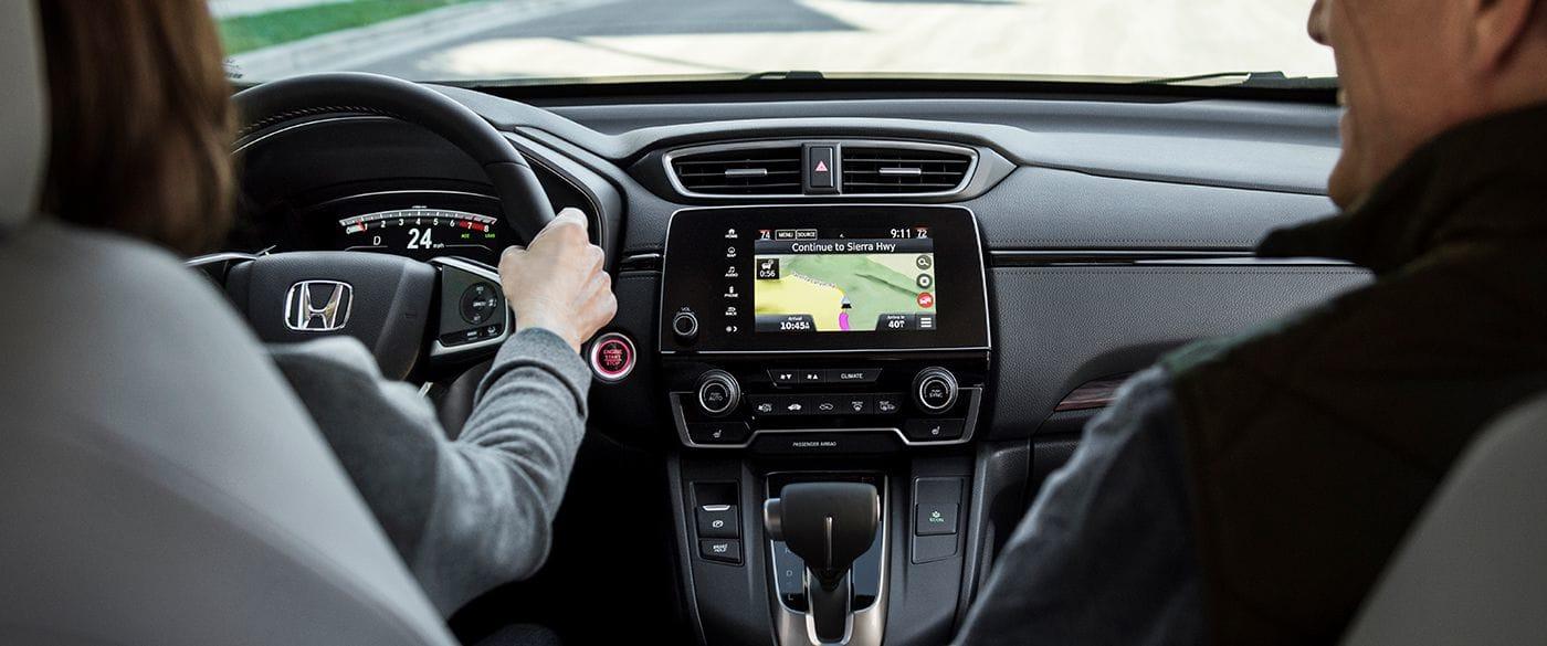 Interior of the 2019 Honda CR-V