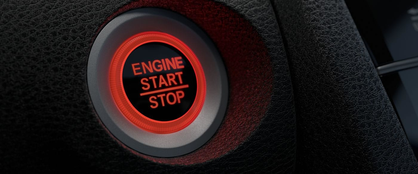 Turn the 2019 Civic On With On Push!