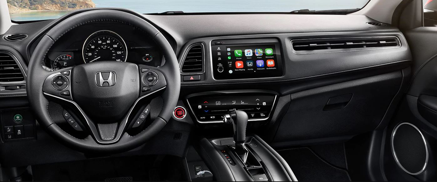 Interior of the 2019 Honda HR-V