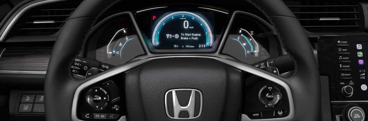 2019 Honda Civic Information Display