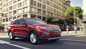 2020 Ford Explorer in Fredericton