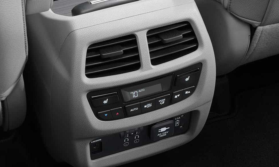 2019 Honda Pilot Climate Control System