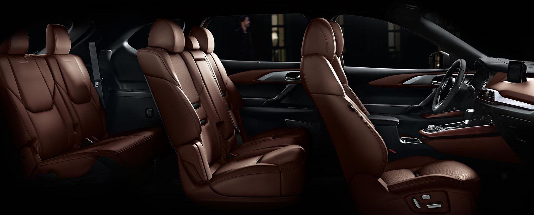 Plush Seating in the 2019 Mazda CX-9!