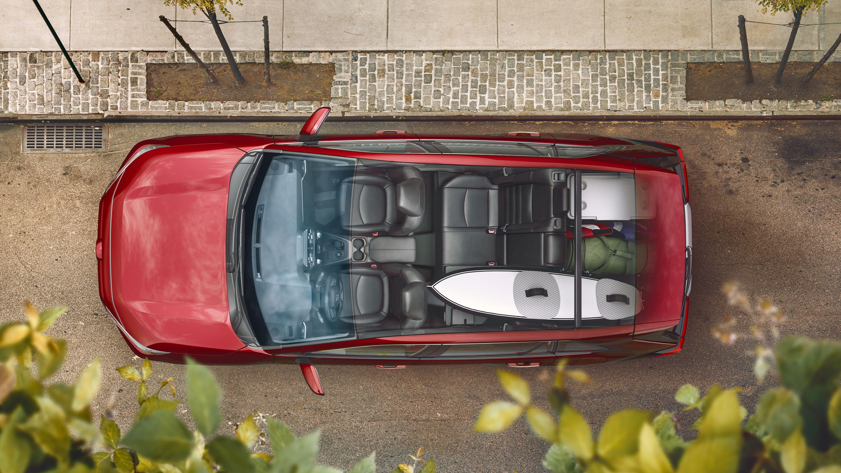 Cargo Room in the 2019 RAV4