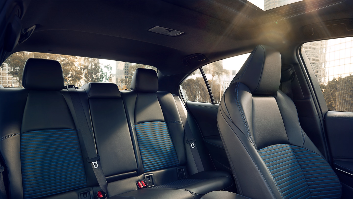 Seating of the 2020 Corolla