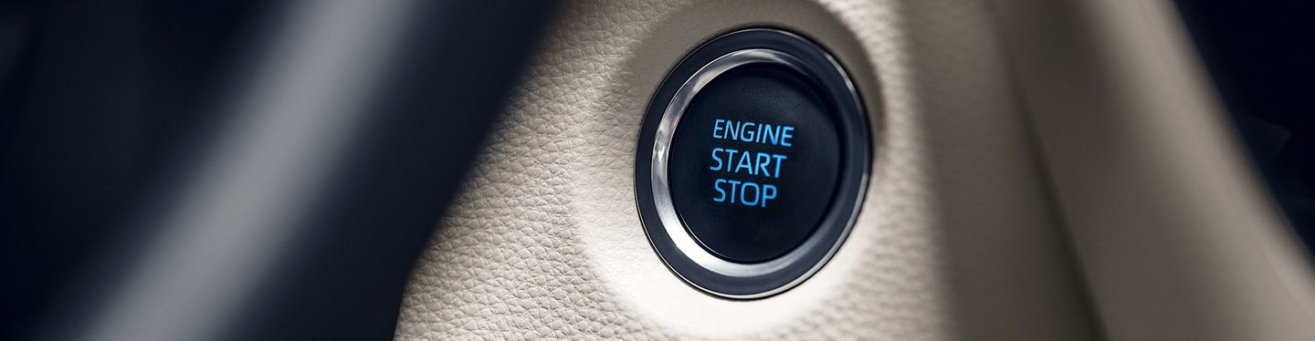 Push Button Start in the 2020 Corolla