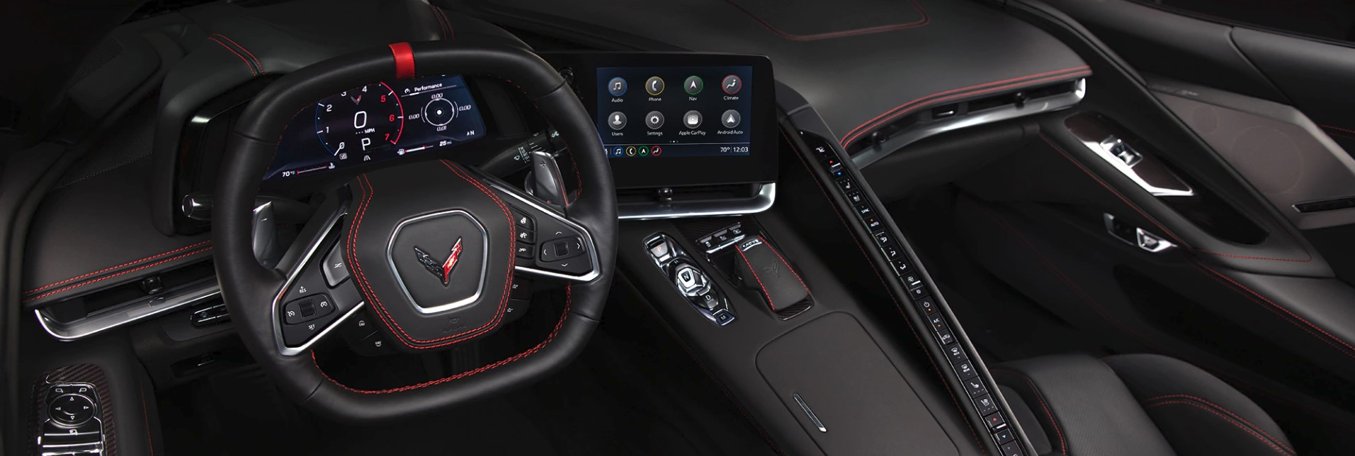 2020 Corvette Cockpit