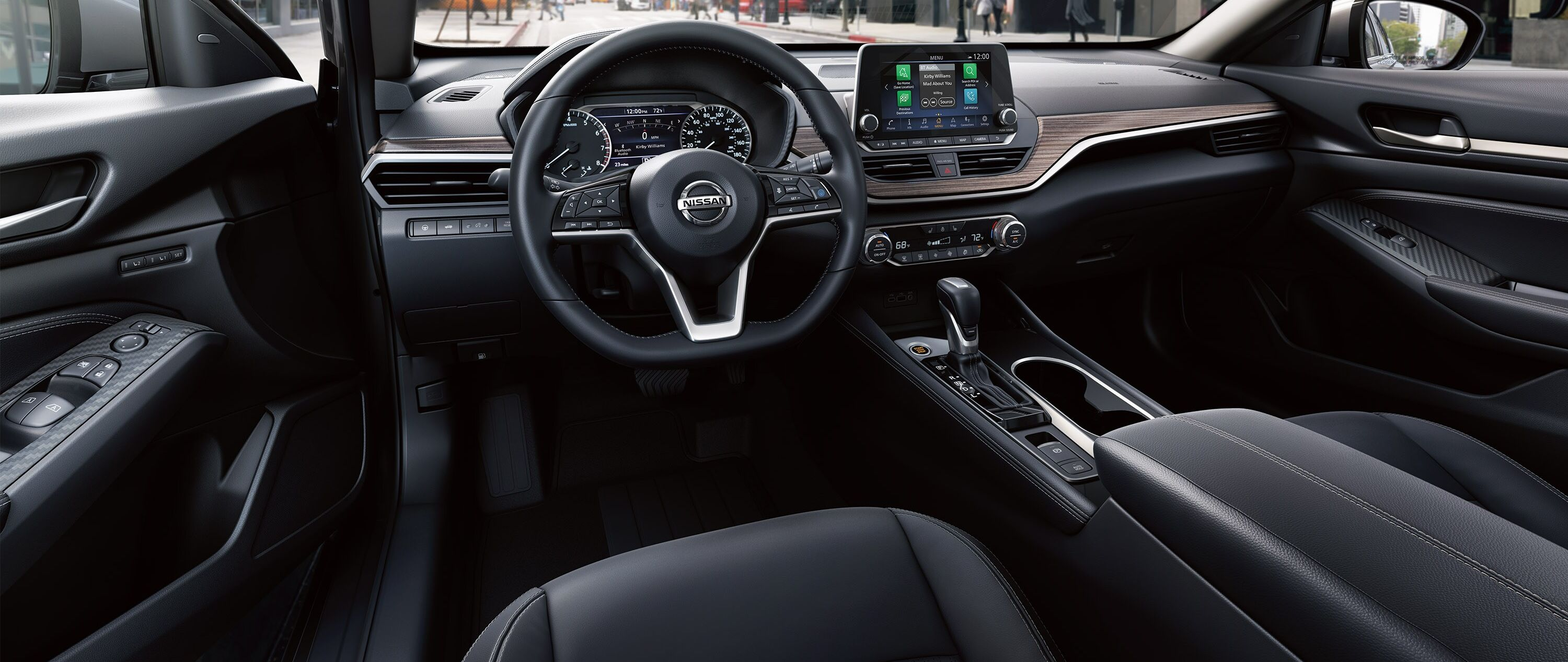 The Spacious Interior of the 2019 Altima