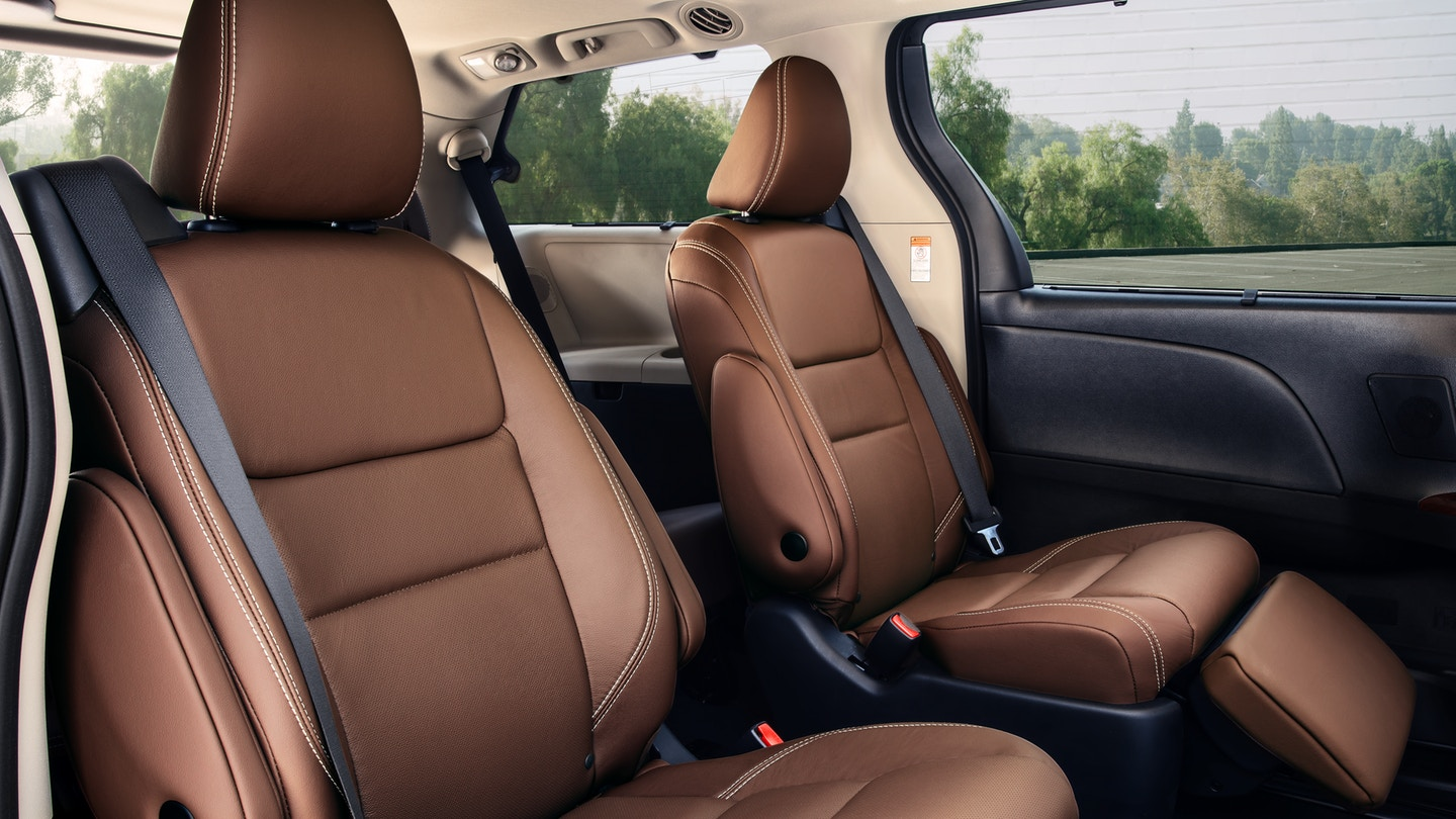 Luxurious Seating in the 2019 Sienna