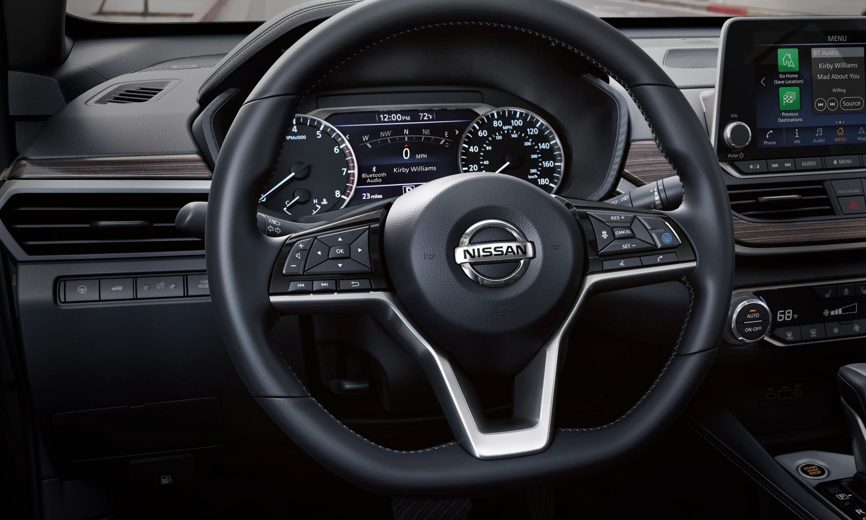 2019 Nissan Altima Steering Wheel