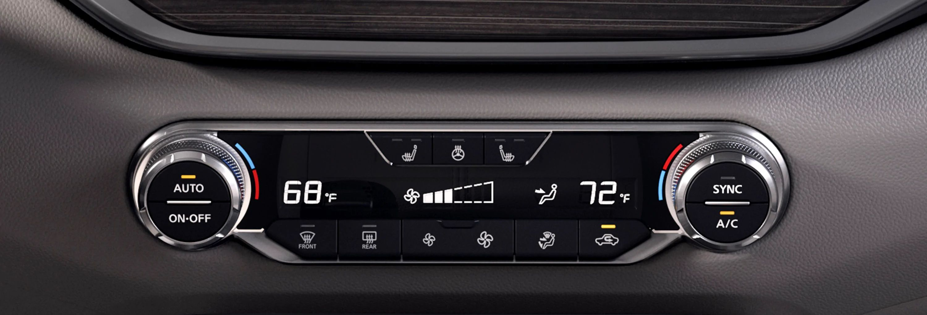 2019 Altima Dual-Zone Automatic Temperature Control