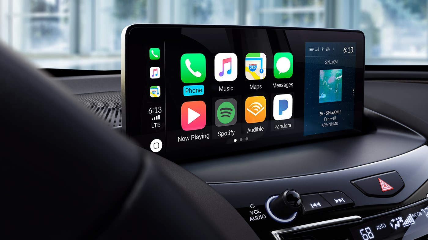 Touchscreen Display in the 2020 RDX
