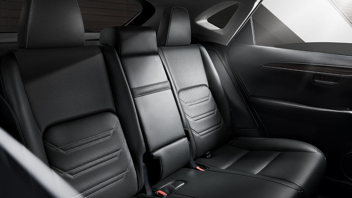 2020 Lexus NX 300 Rear Seating