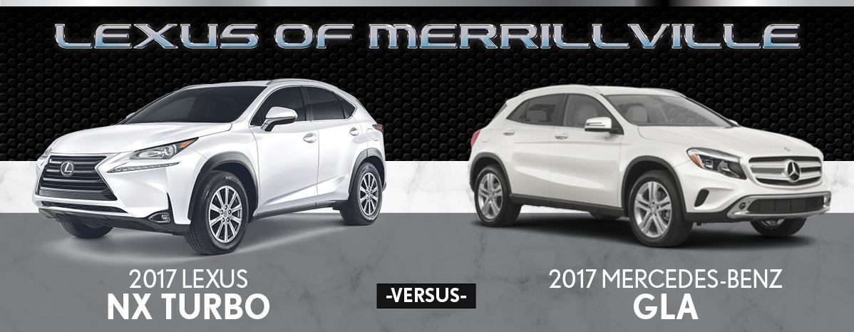 2017 Lexus NX Turbo F Sport vs  2017 Mercedes-Benz GLA 250