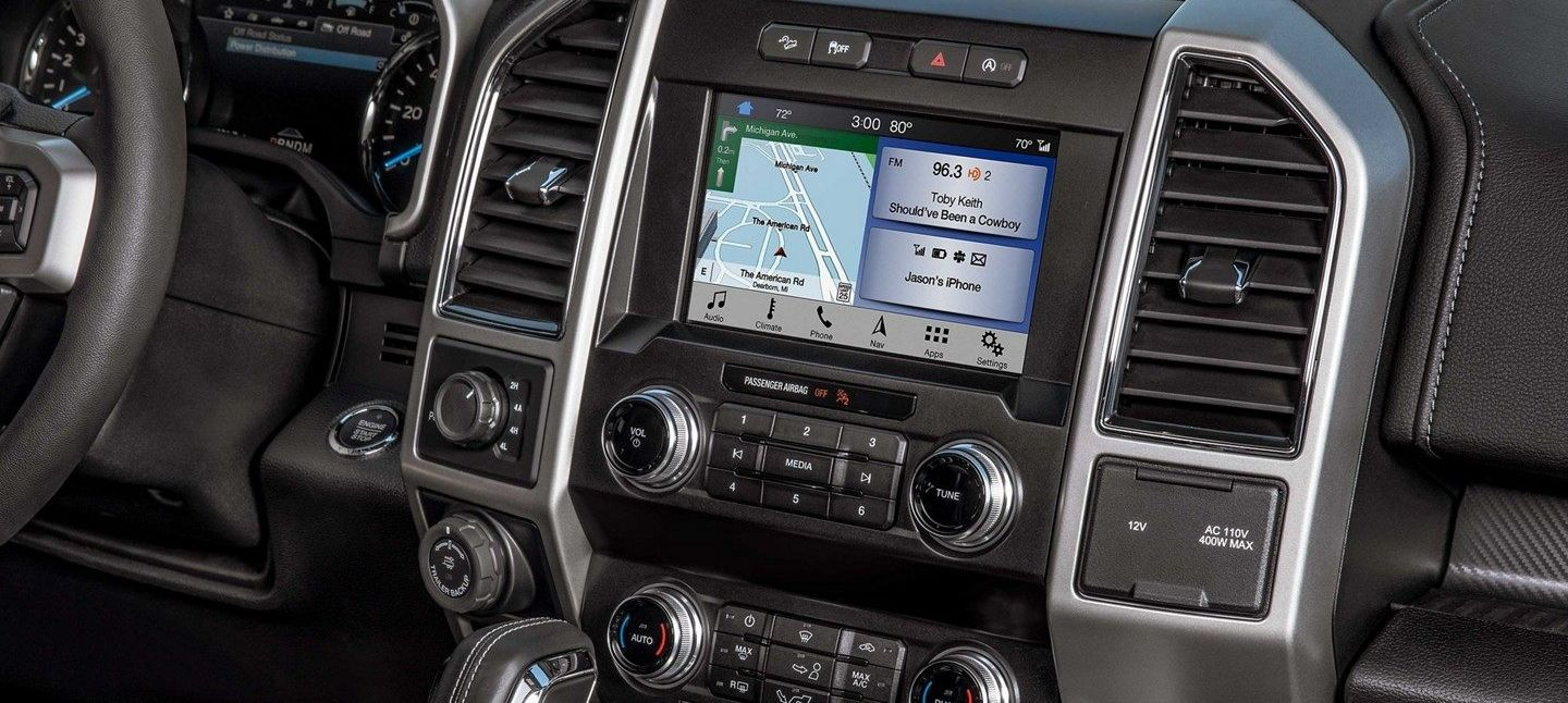 The Loaded Dashboard of the 2019 F-150
