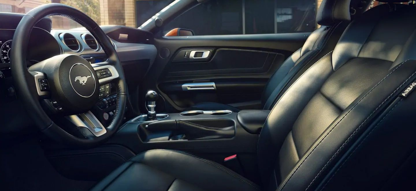 The Stunning Interior of the 2019 Mustang