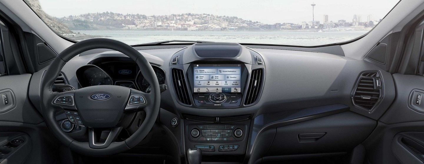 2019 Ford Escape Dashboard