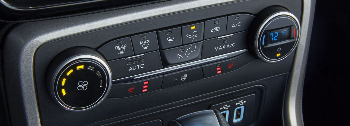 Automatic Temperature Control in the 2019 EcoSport