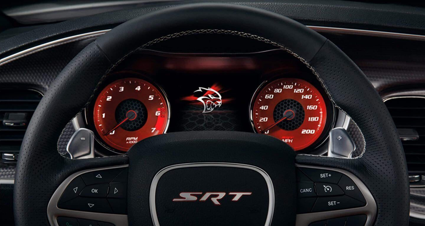 Instrument Panel in the 2019 Charger