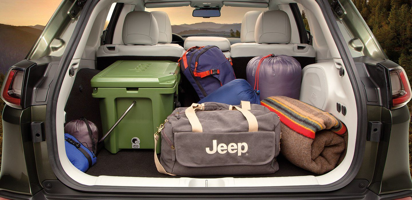 Cargo Area of the 2019 Jeep Cherokee
