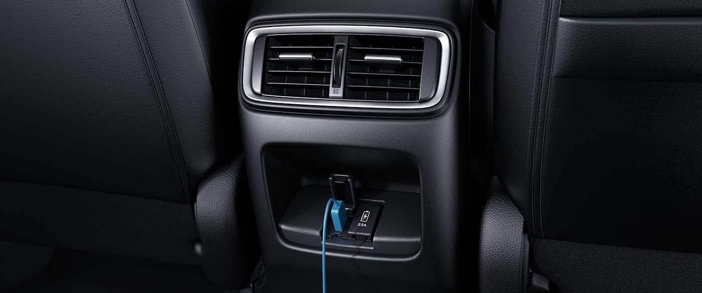 Rear USB Ports in the 2019 Honda CR-V