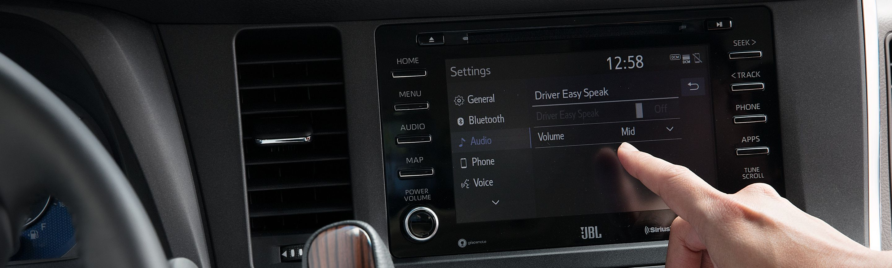 2020 Toyota Sienna Center Console