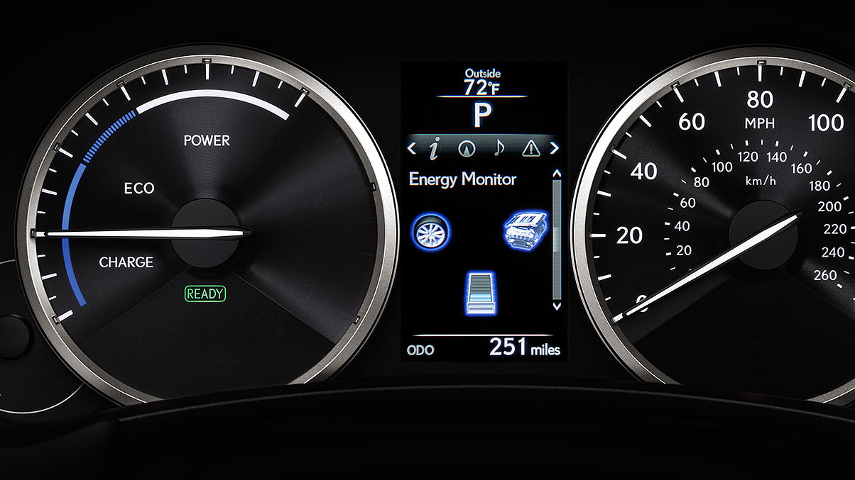 Energy Monitor in the 2020 Lexus NX 300h