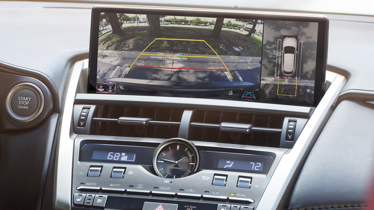 Safety Tech in the 2020 NX 300