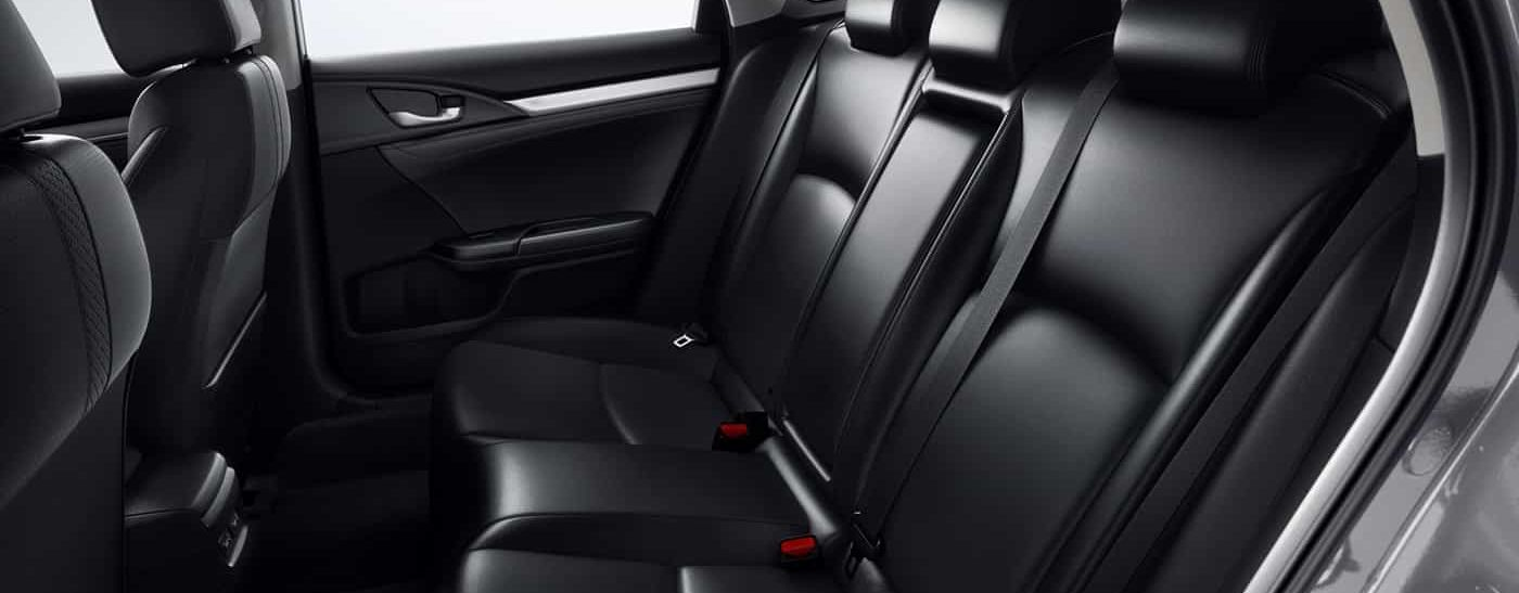 Upscale Leather Seats in the 2019 Honda Civic