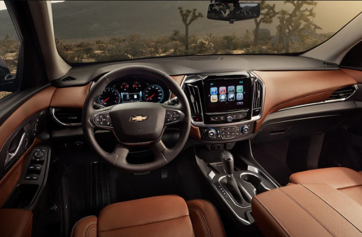 2020 Chevrolet Traverse Center Console