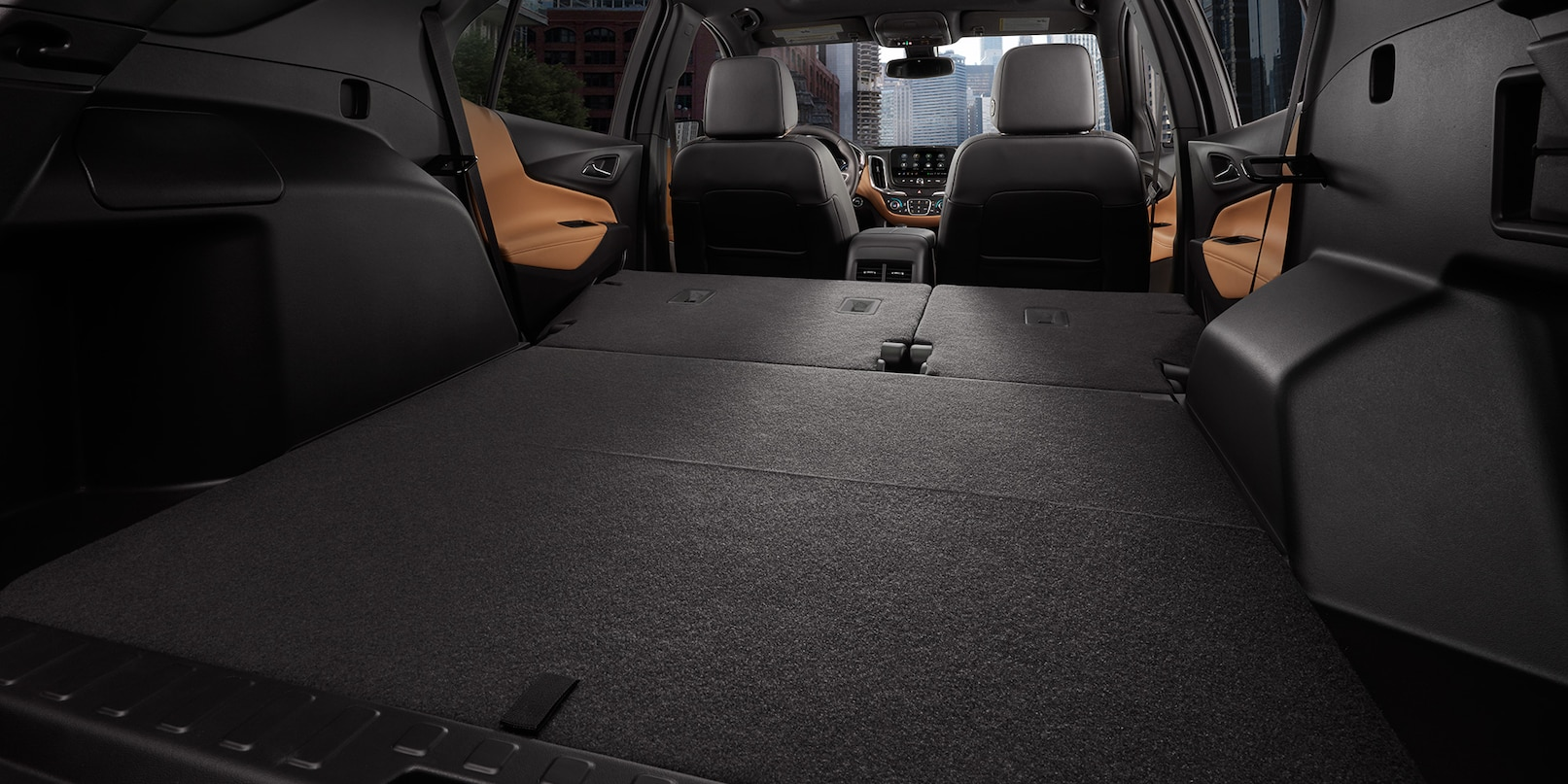 Commodious Cabin of the 2019 Equinox