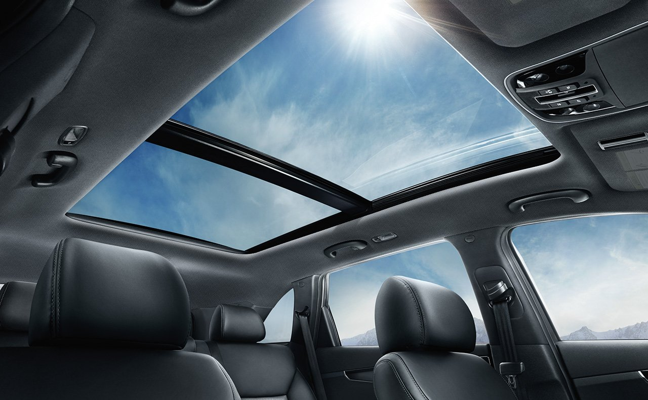 Moon Roof of the 2019 Sorento