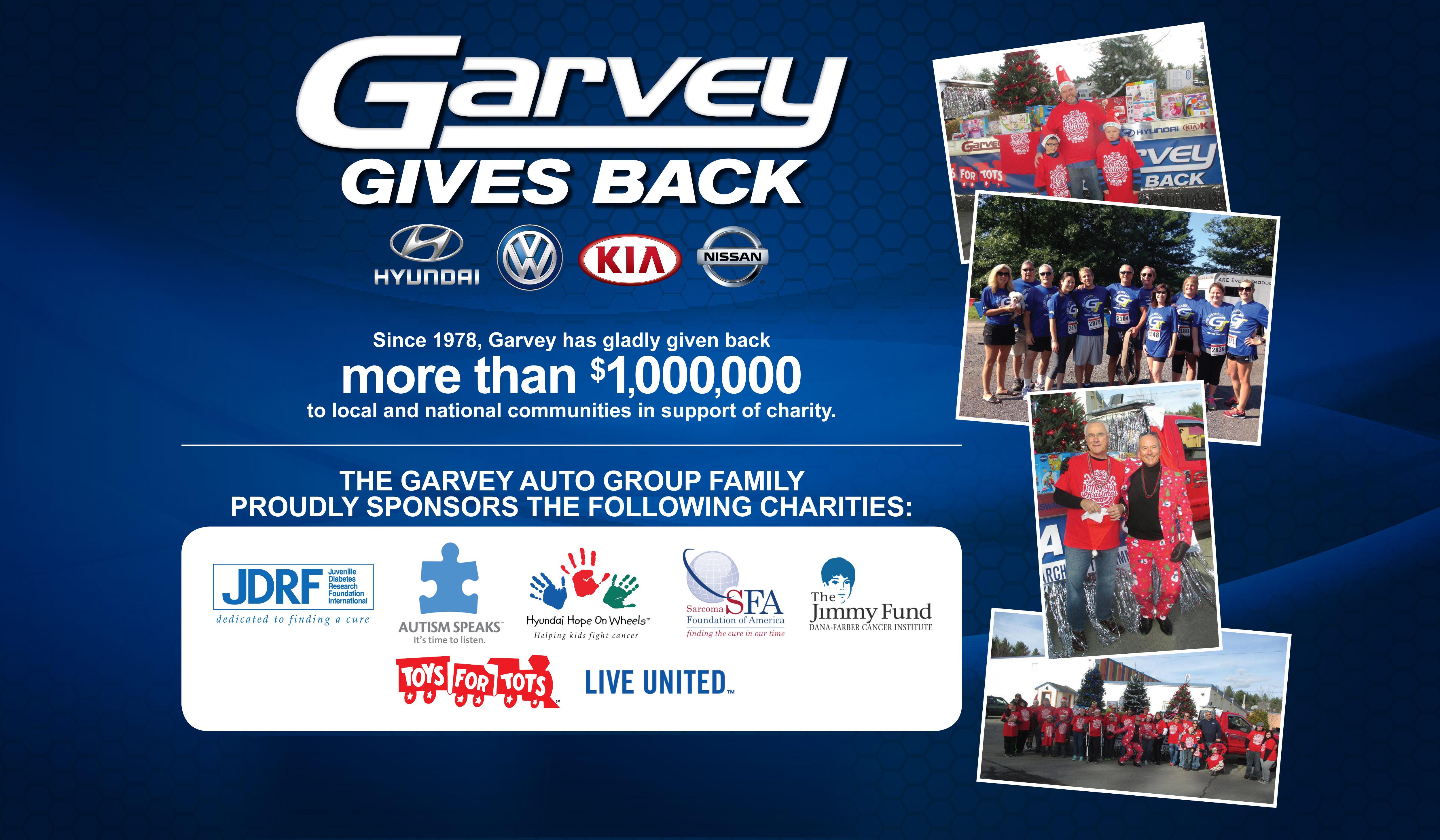 Garvey Gives Back | Garvey Kia