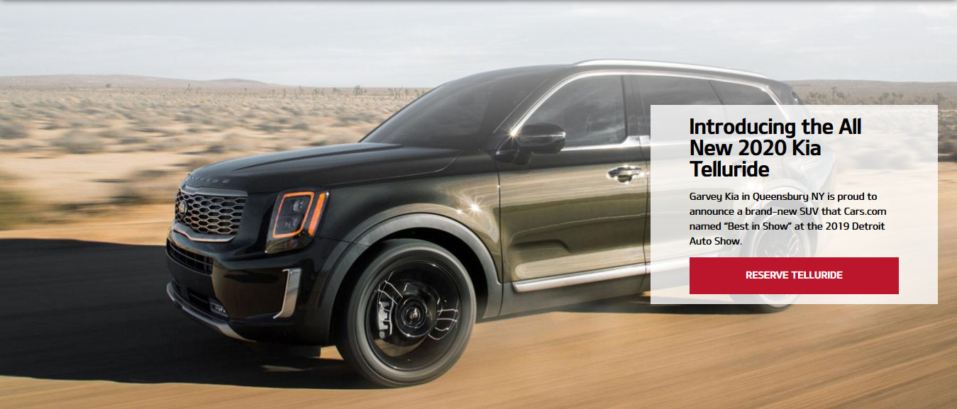 Introducing the All New 2020 Kia Telluride