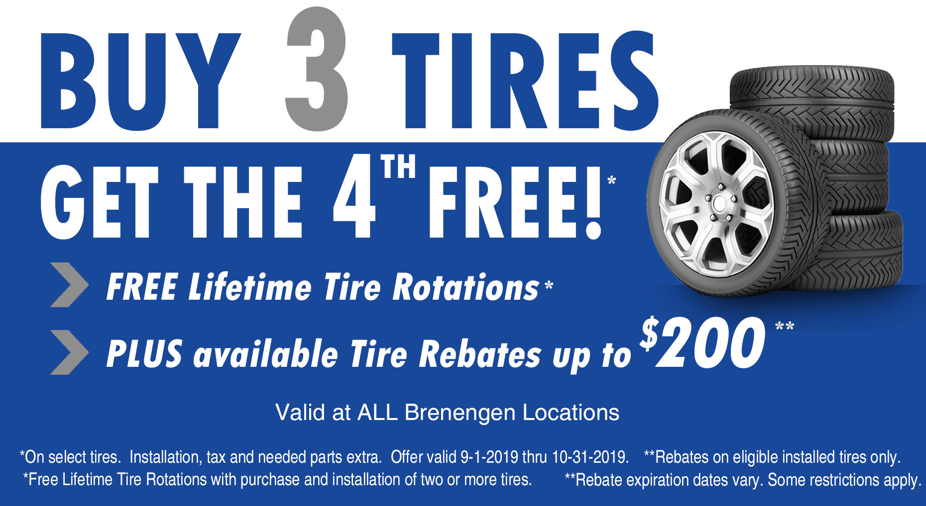 Buy 3 Get 1 Free Tires >> Tire Sale Buy 3 Tires Get The 4th Tire Free