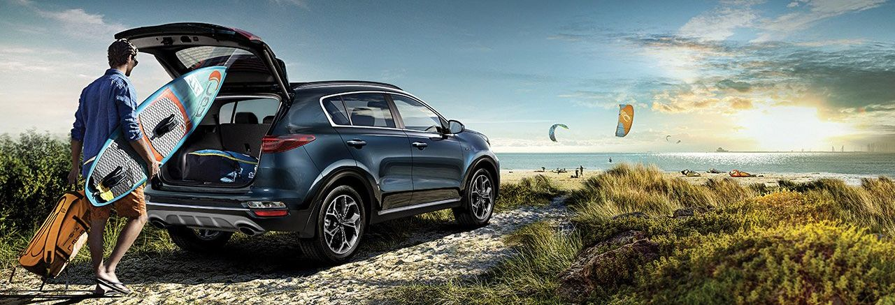 2020 Kia Sportage vs 2019 Hyundai Tucson near North County, CA