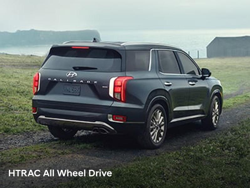 Hyundai Palisade  all-wheel drive