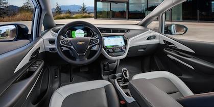 Interior of the 2019 Bolt EV