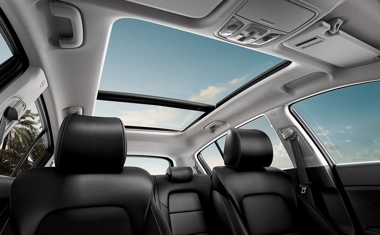 Refined Cabin of the 2020 Sportage