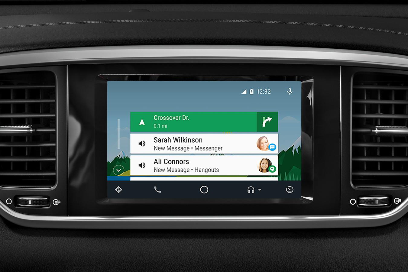 Standard Android Auto™ in the 2020 Kia Sportage