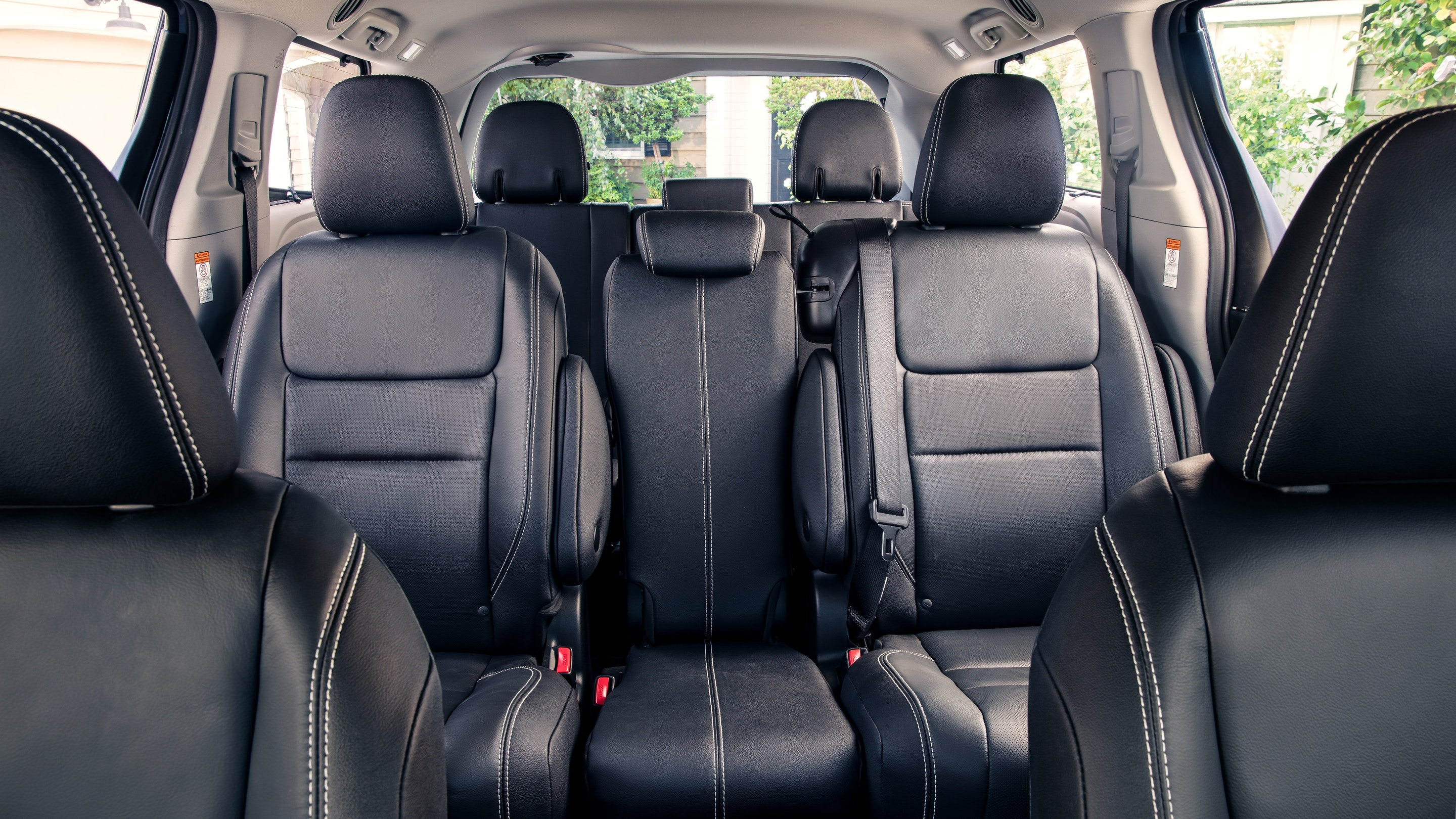 Back Row of the 2020 Sienna